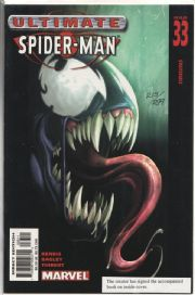 Ultimate Spider-man #33 Dynamic Forces Signed Art Thibert DF COA Ltd 299 1st Venom Marvel comic book